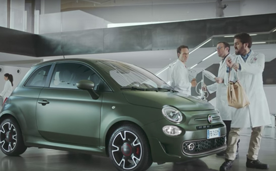 Fiat 500s Test